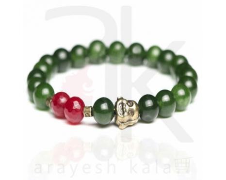 دستبند زیبایی بدلی سبز جدید