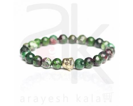 دستبند زیبایی بدلی سبز