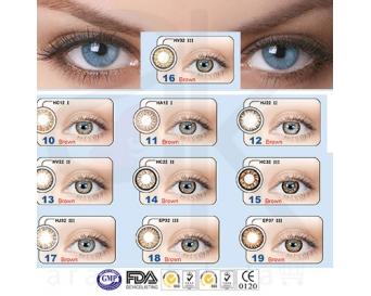 لنز چشم قهوه ای(معرفی محصول)