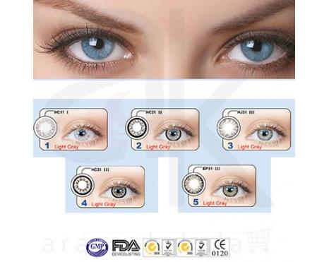 لنز چشم خاکستری روشن (معرفی محصول)