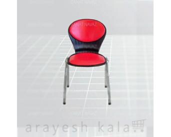 صندلی انتظار آرایشگاهی قرمز