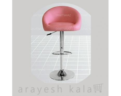 صندلی براشینگ آرایشگاهی صورتی
