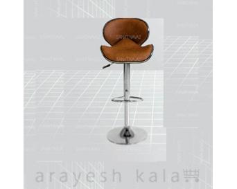 صندلی آرایشگاهی اپنی قهوه ای