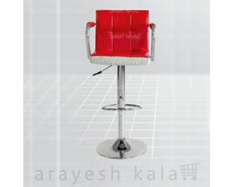 صندلی آرایشگاهی کودک قرمز
