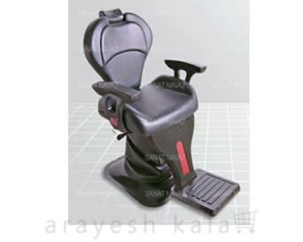 صندلی آرایشگاهی برقی مشکی مدل 6819
