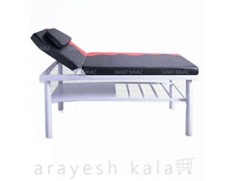 تخت ماساژ آرایشگاهی مشکی قرمز